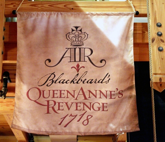 Queen Anne's Revenge Exhibit Banner